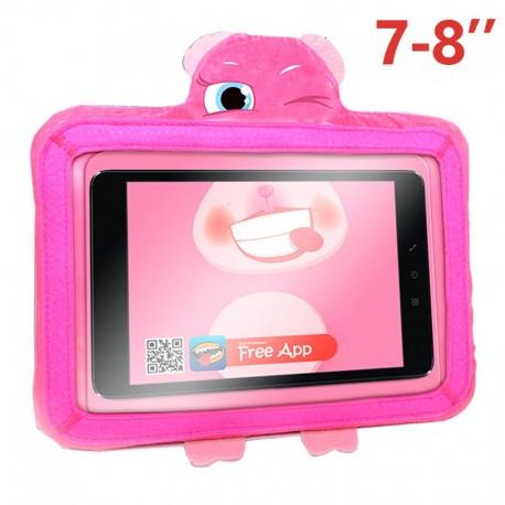 Funda COOL Ebook / Tablet 8 pulgadas Universal Wise-Pet Rosy Rosa + App