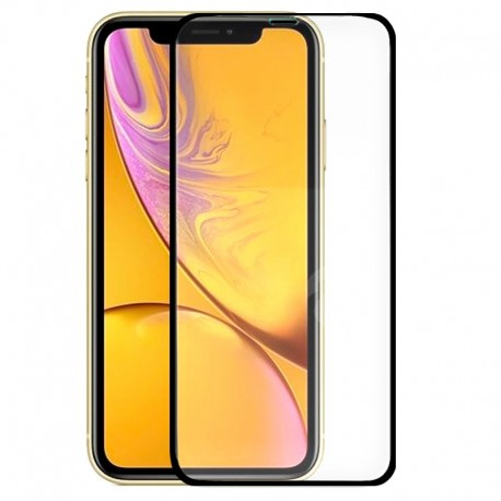 Protector Pantalla Cristal Templado iPhone XR / iPhone 11 (FULL 3D Negro)