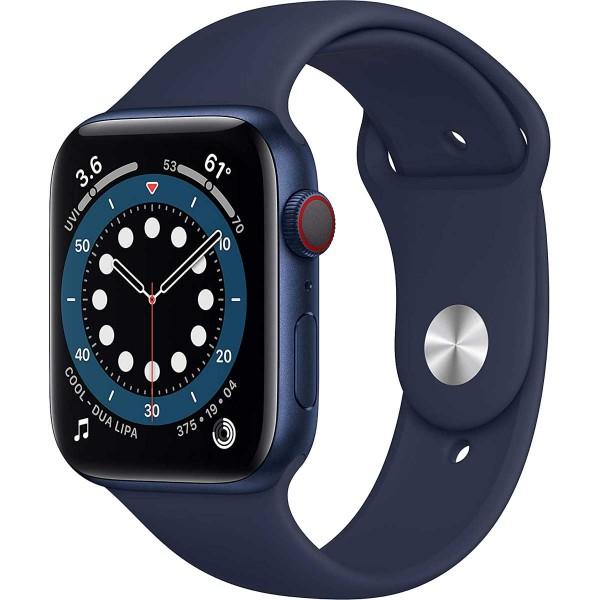 Smartwatch Apple Watch 6 40mm blue Aluminium Case with deep navy Sport Band