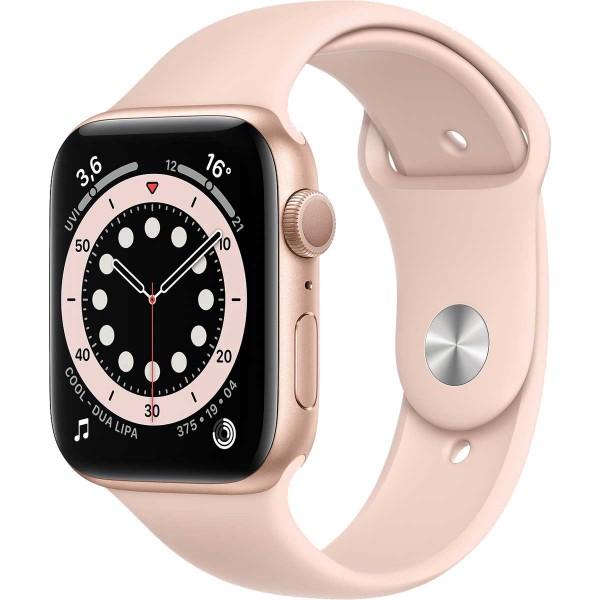 Apple Watch 6 GPS 44mm rosa y oro