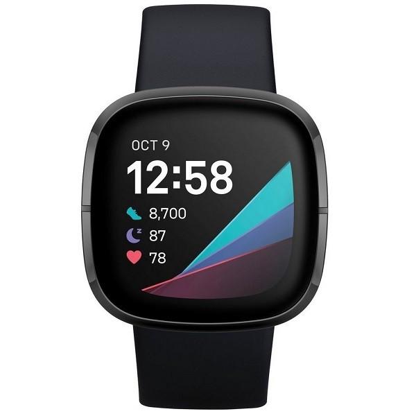 Smartwatch Fitbit Sense negro