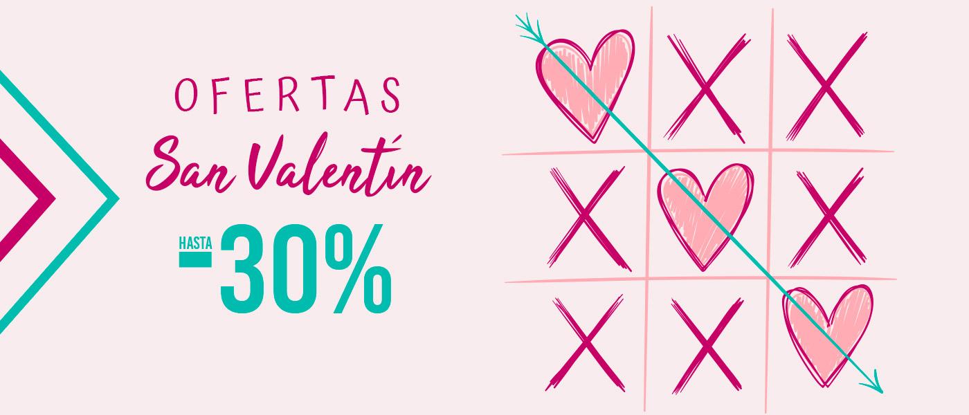 Ofertas San Valentín